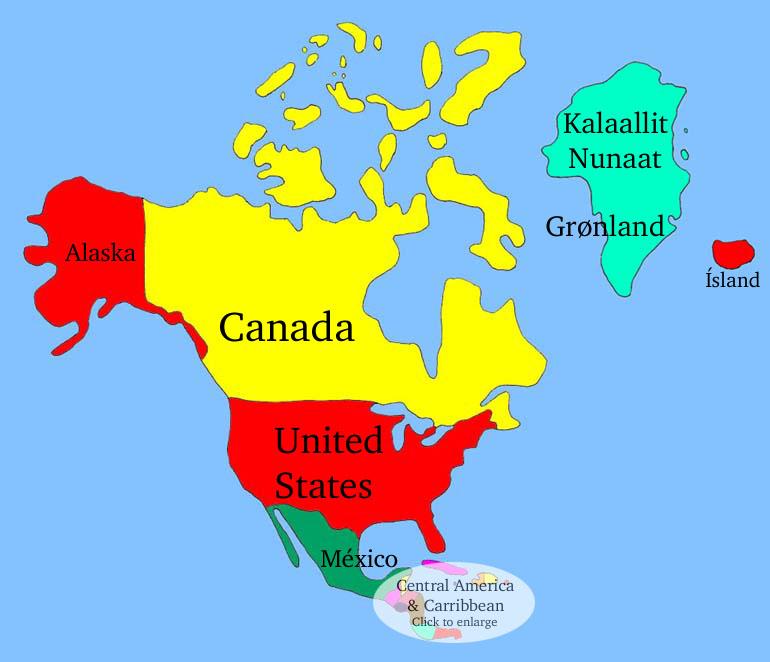 America del Norte  Turidiss Blog
